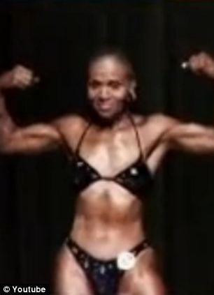 Ernestine Shepherd Oldest BodyBuilder Posing