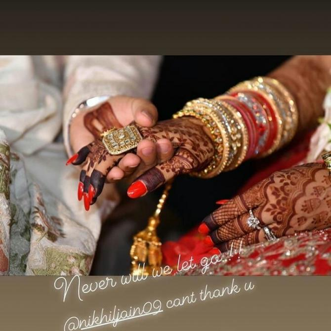 Nusrat Jahan wedding photos