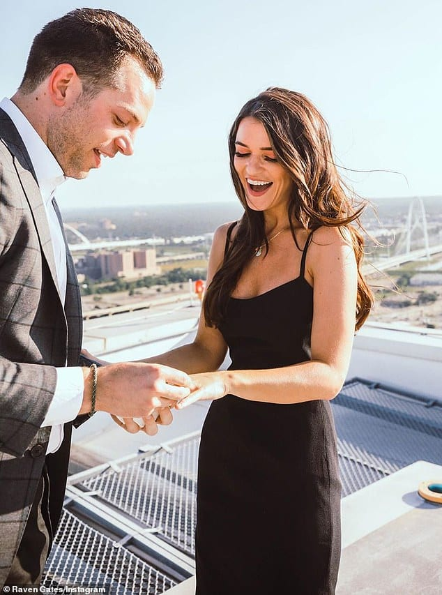 Raven Gates and Adam Gottschalk are engaged