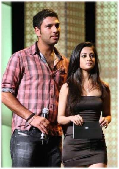 Riya Sen - Yuvraj Singh Girlfriend