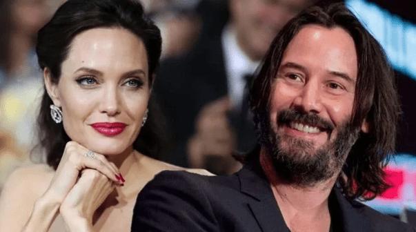Angelina Jolie Keanu Reeves Dating