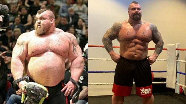 Former World's Strongest Man's Weight loss Journey