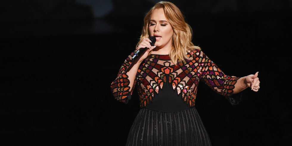 Adele Adkin weight loss