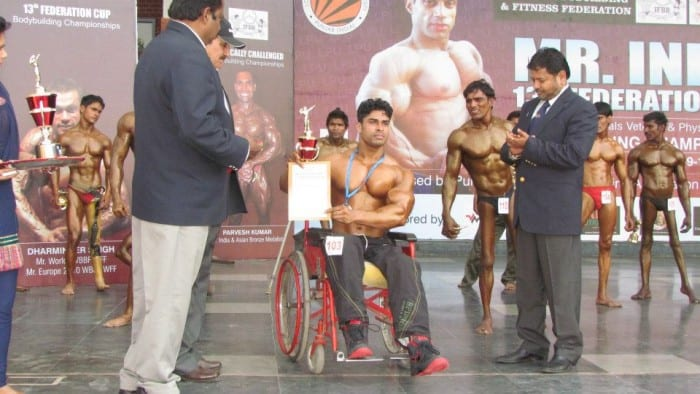 Anand Arnold Secures second place at Toronto PRO SuperShow