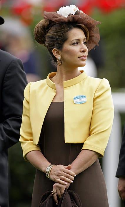 Princess Hayabint with hair bun