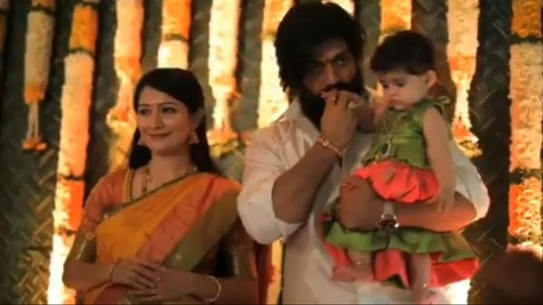 Yash and Radhika Pandit Baby