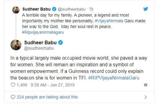 Vijaya Nirmala dies at 75 2