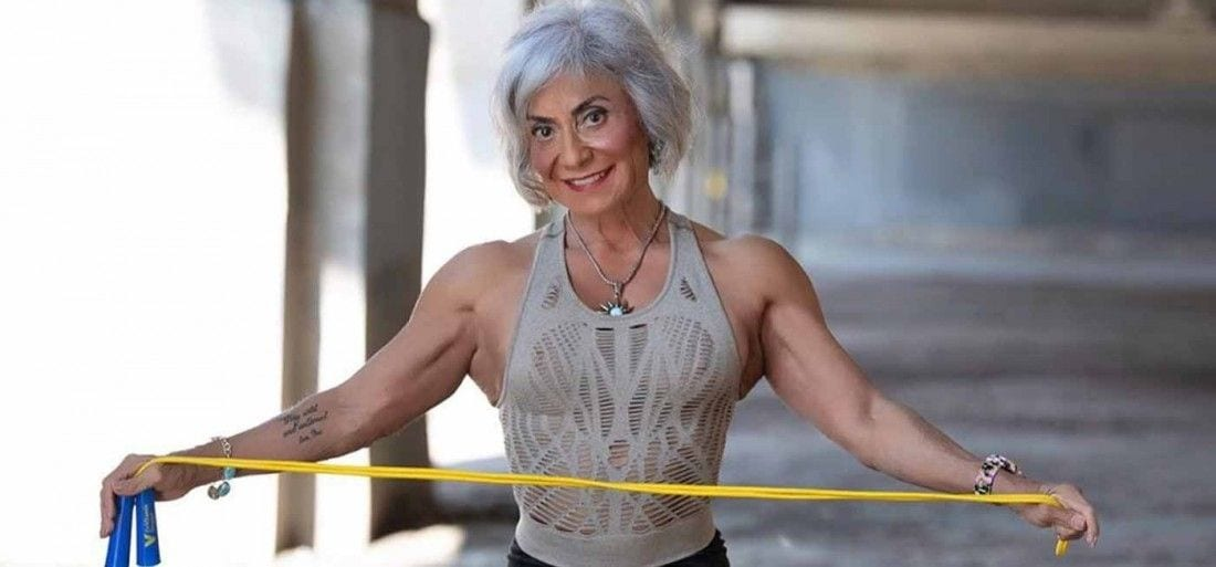 Rebecca Wood Bodybuilder 70 years old