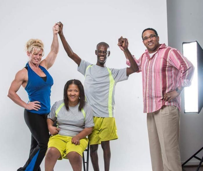 Couple with Cerebral Palsy - Wade McCrae Washington and BJ Glaze