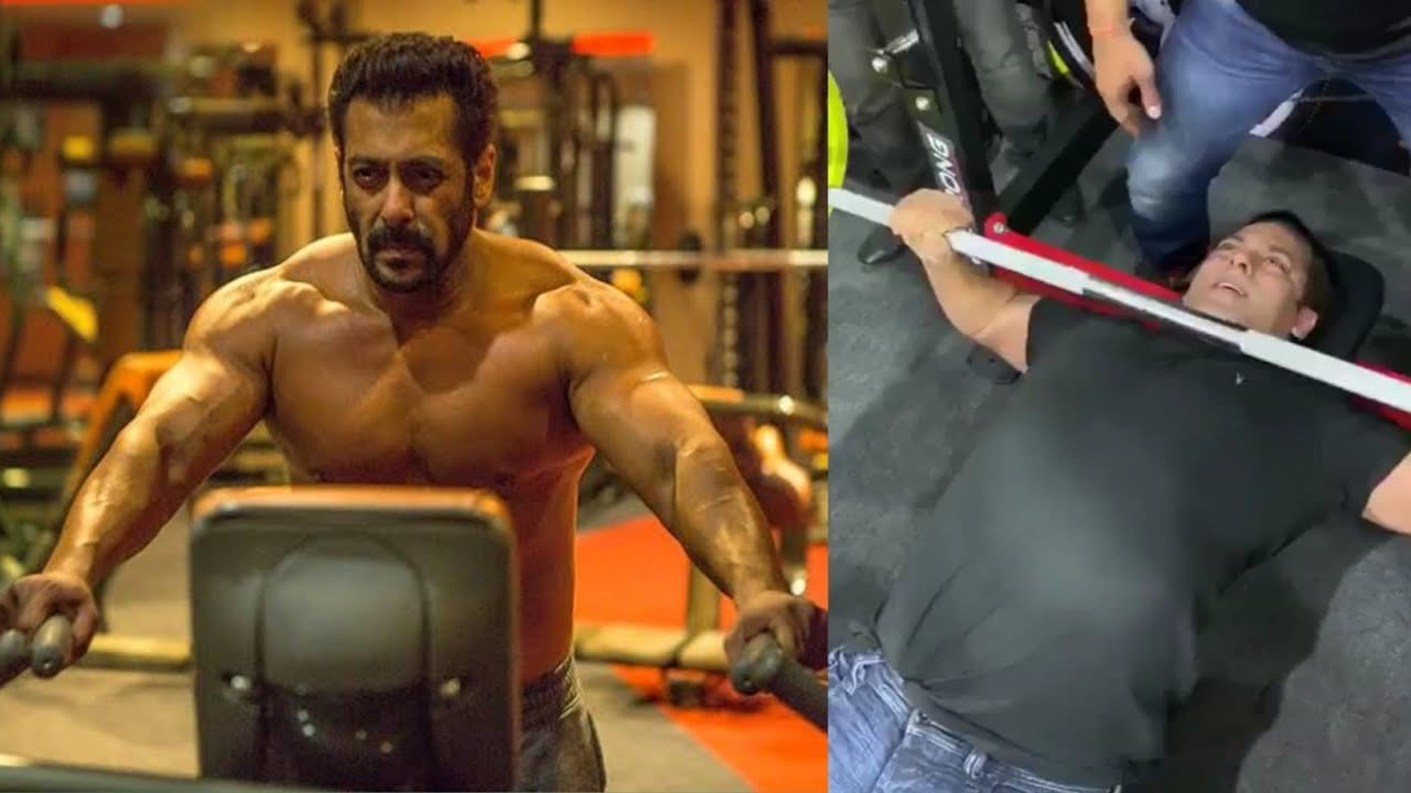 Salman Khan gives a glimpse of his gym
