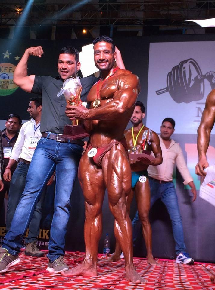 mahesh chauhan ifbb pro winner 2019