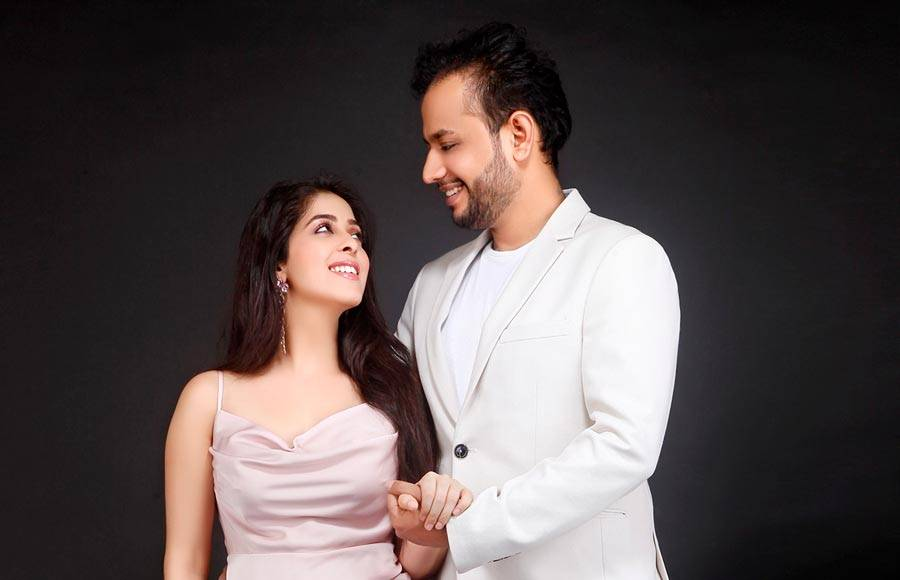 Garima Jain gets engaged to a diamond merchant in an arranged marriage