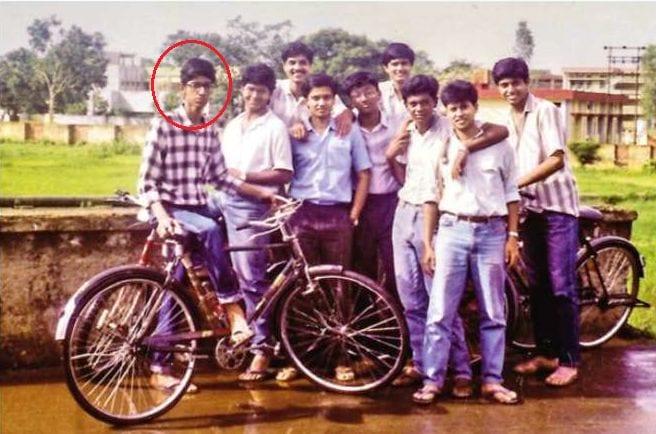 Sundar Pichai early age