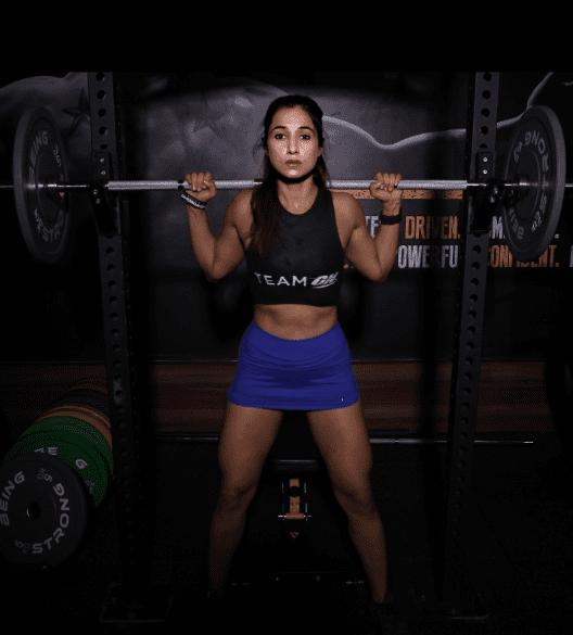 Diksha Chhabra - Mrs. Earth India in Gym