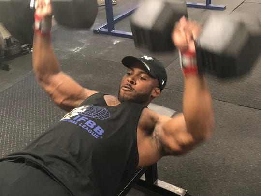 Benquil Marigny gym workout