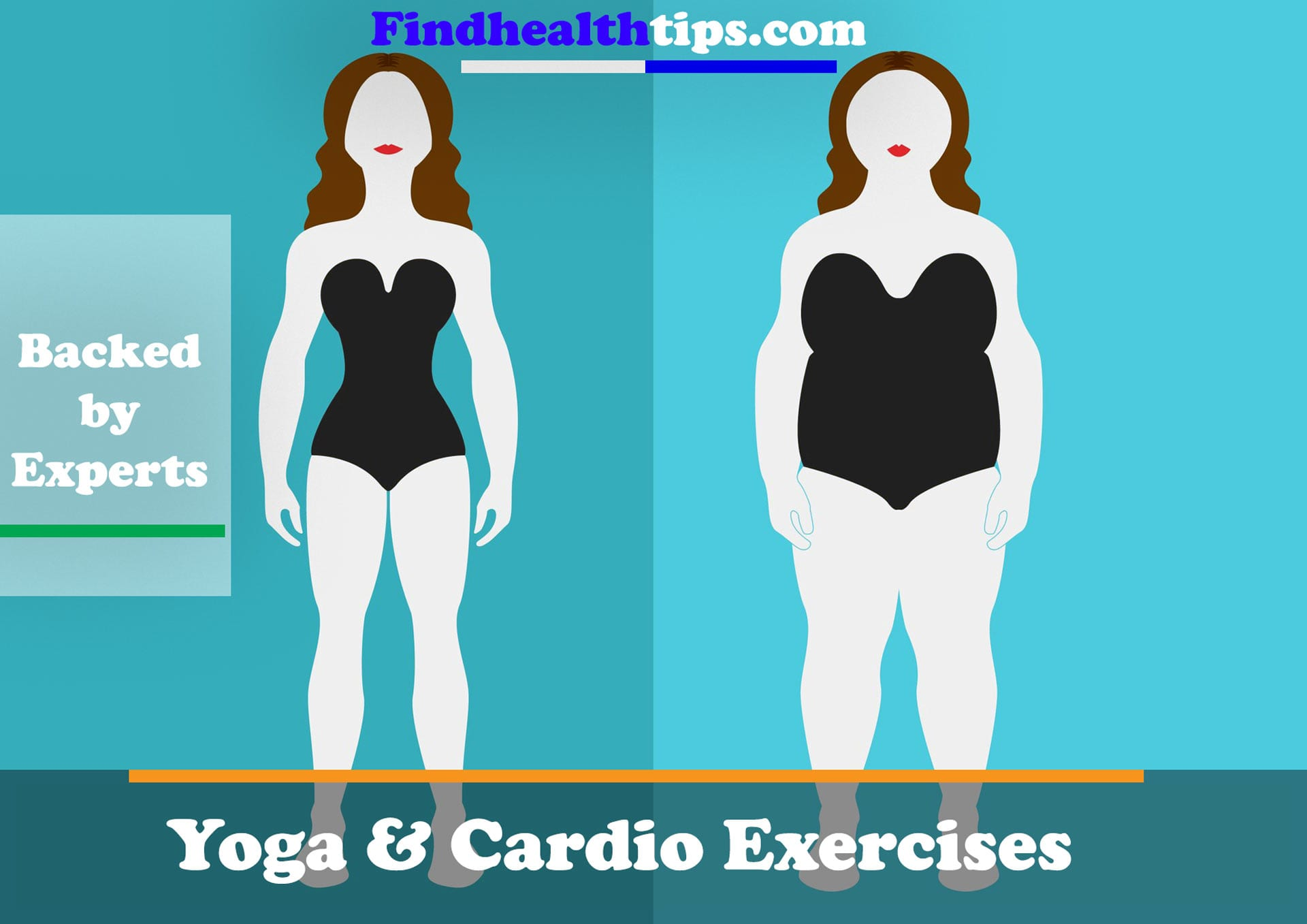 Yoga and Cardio Exercises to Lose Belly Fat  –  Backed by Experts