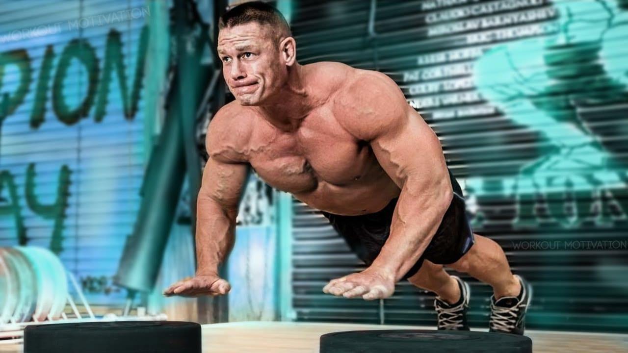 john cena gym workout schedule