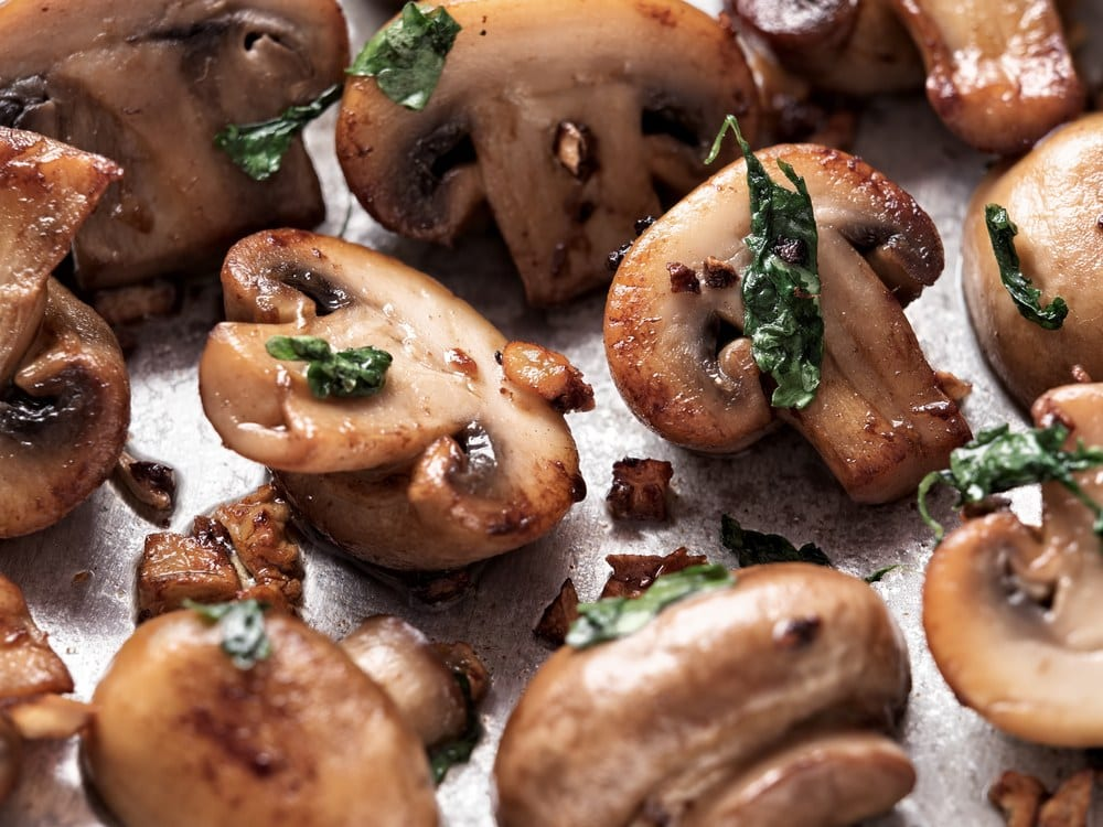 Sauted Mushrooms 30