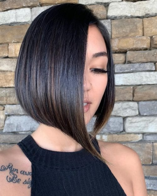 Short hair with Extreme Side Parting 29