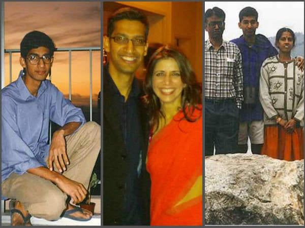 sunder pichai love and family life