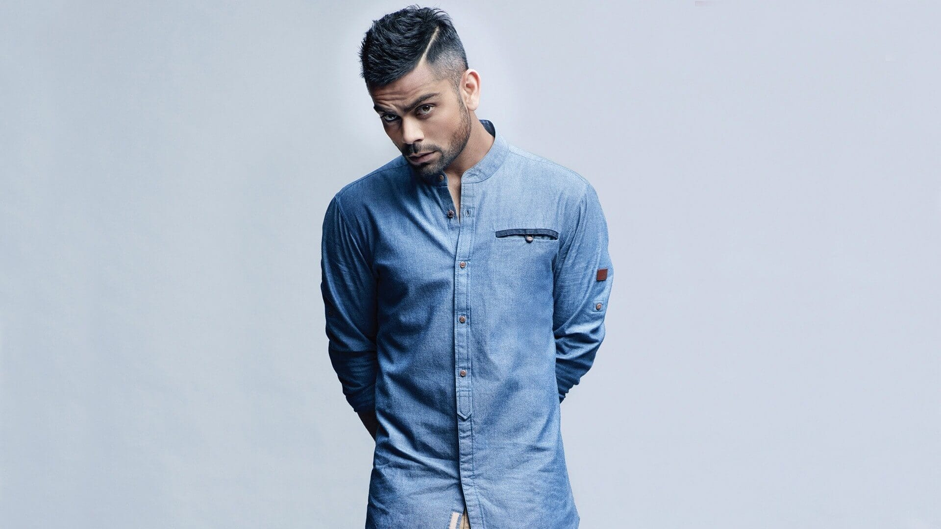 Goatees and Mustaches with trimmed Scruff – VIrat Kohli