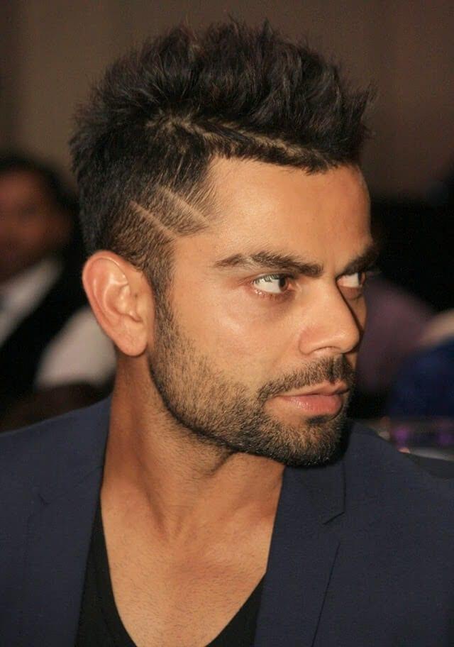 Sharply Cut Beard – Virat Kohli