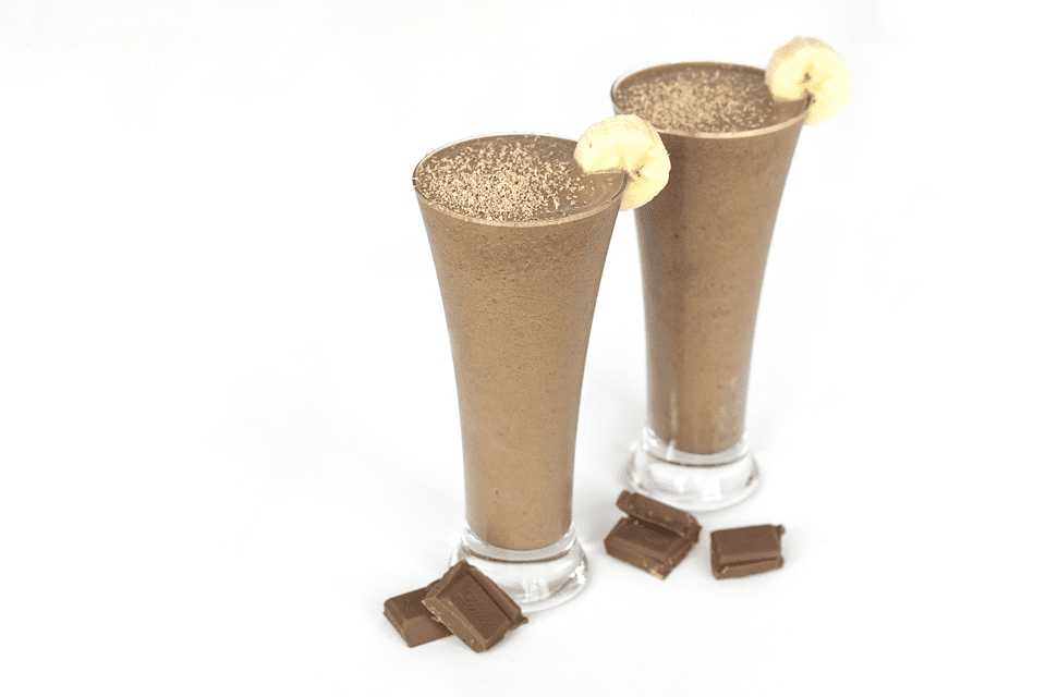 Frozen Banana and Cacao Smoothie