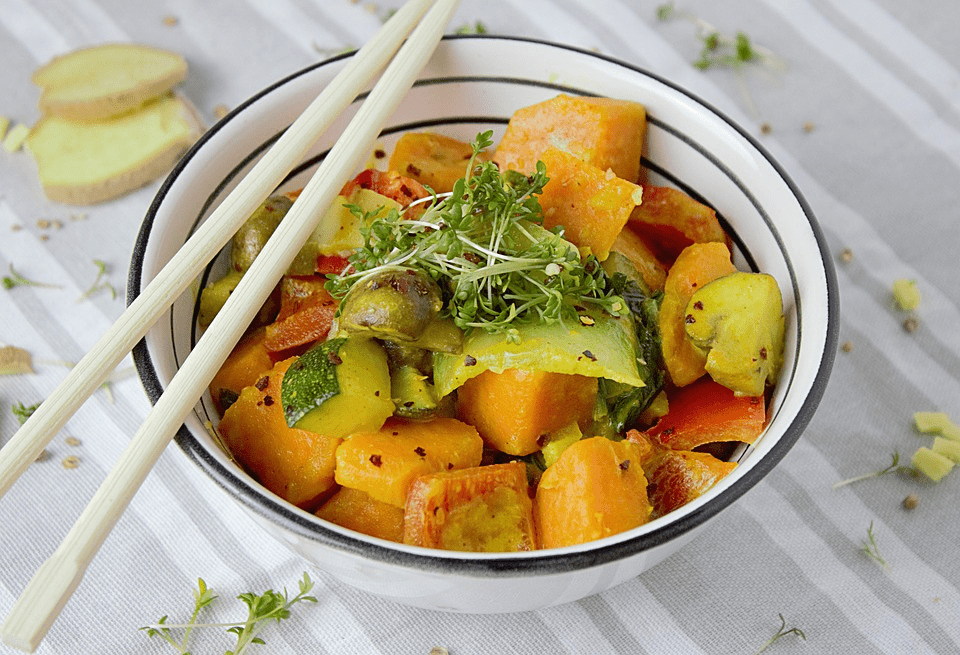 Matcha Vegetable Curry