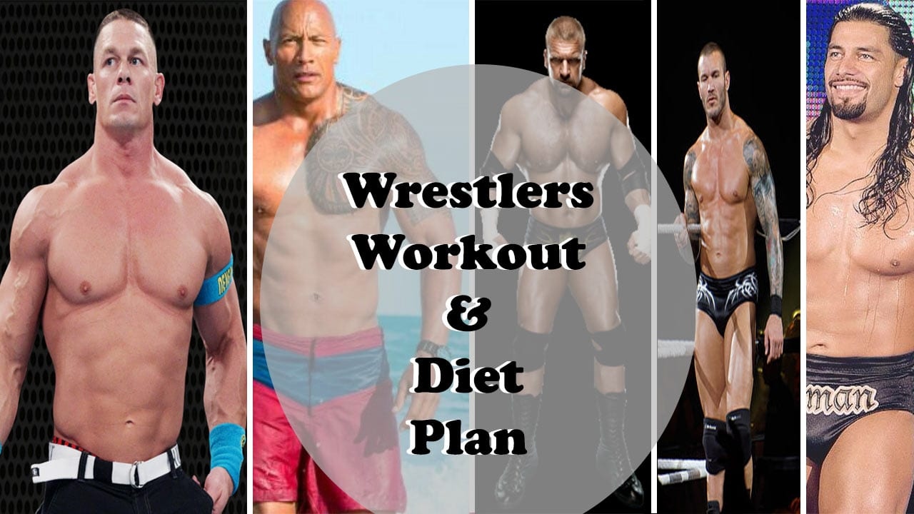 wrestlers workout and diet regime