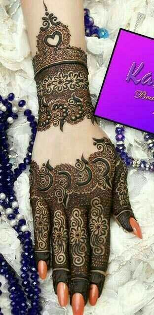 Detailed Mehendi Design 23