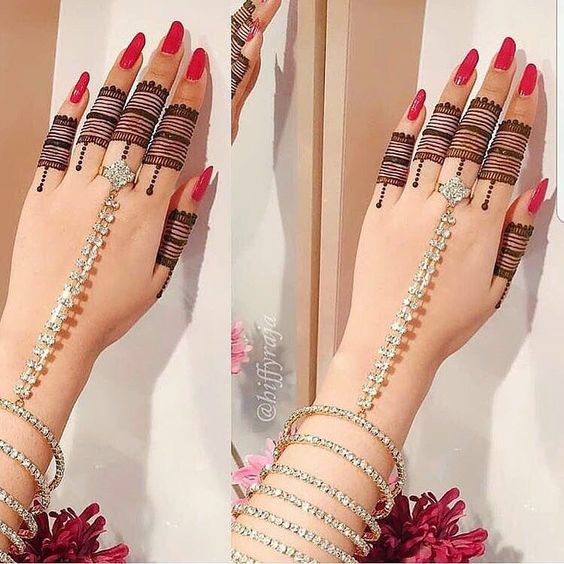 Wear Hand Ornaments 40