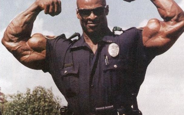 Ronnie Coleman Police Officer