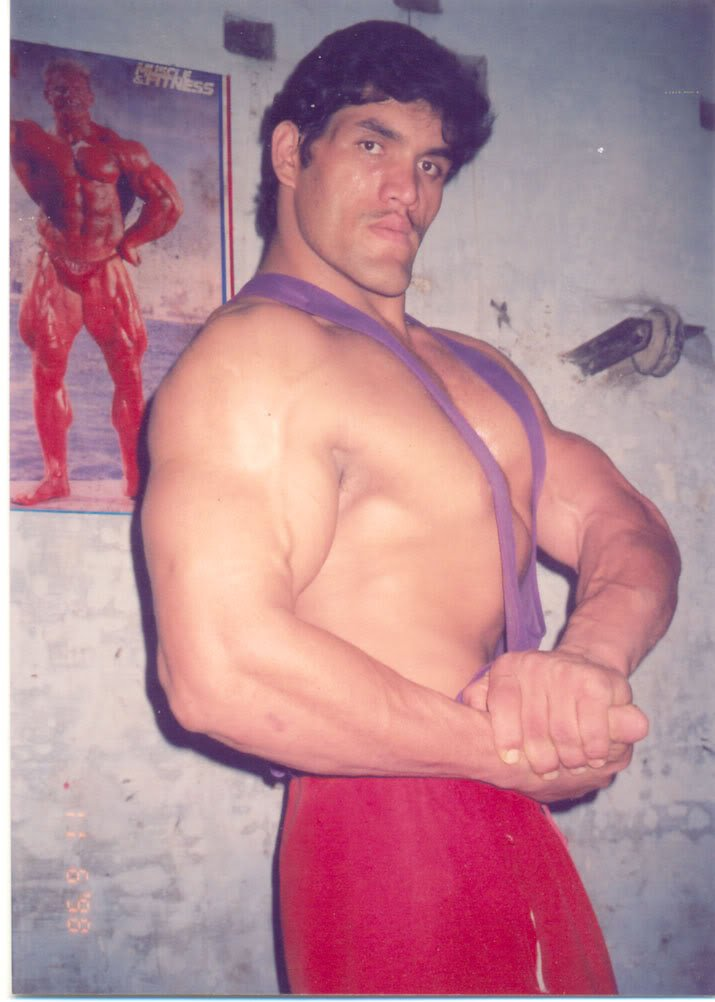 great khali early photos