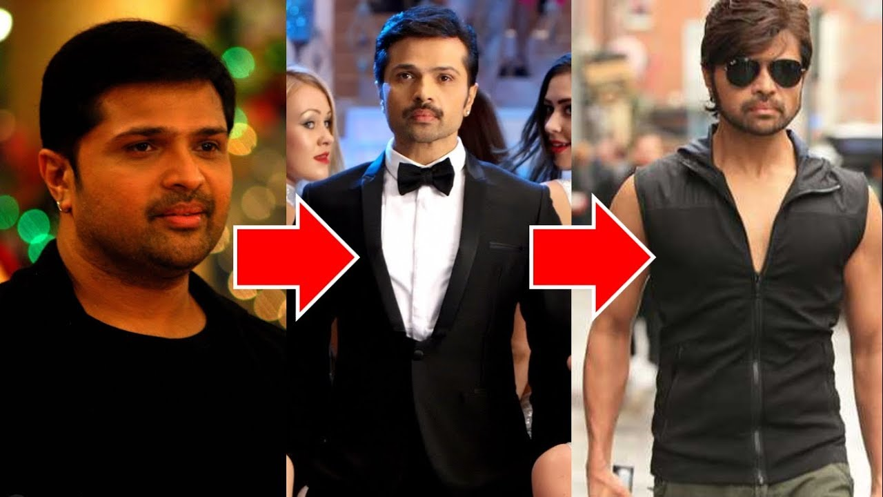 himesh reshammiya old to new looks