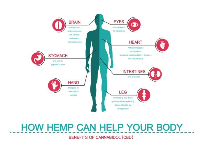 CBD Hemp Health Benefits