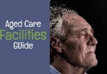 Aged Care Facilities - photo of old man with effect of tearing apart