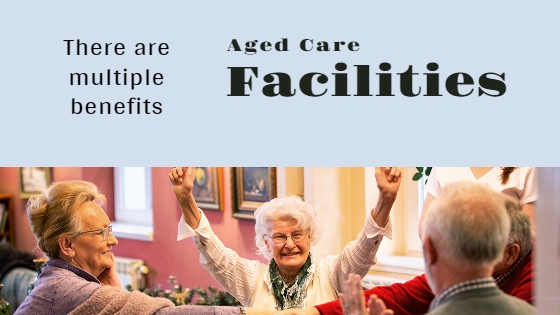 Aged Care Facilities - Elder people, men and women spending cheerful time with each other