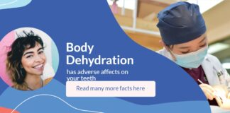 Body Dehydration Bad Effects - displayed with a title and image of the doctor