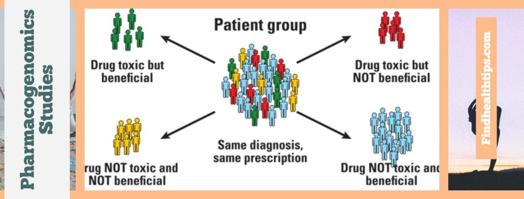 Pharmacogenomics chart explaining the model