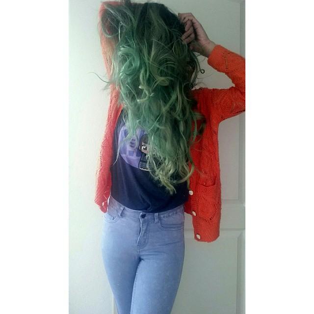 15 Stunning Green Hair Color Ideas 2020 6