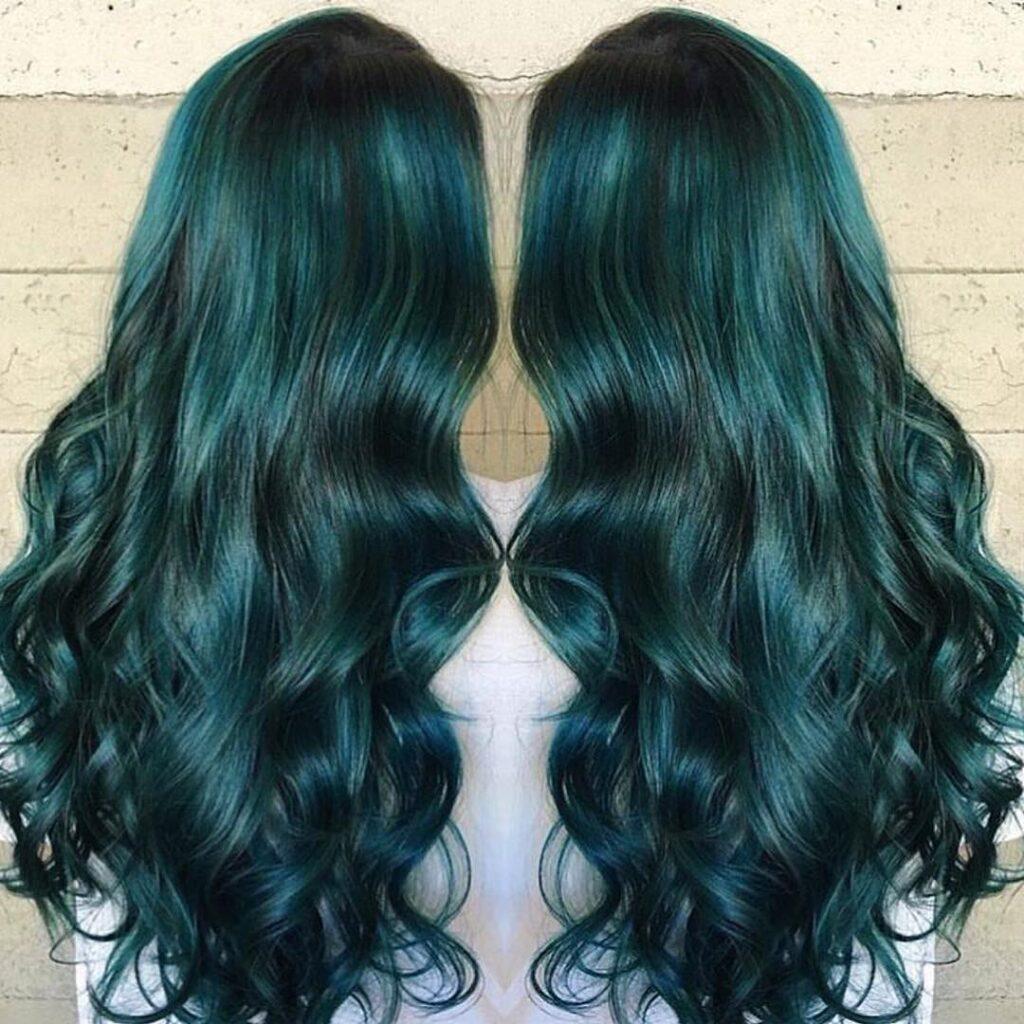 15 Stunning Green Hair Color Ideas 2020 3