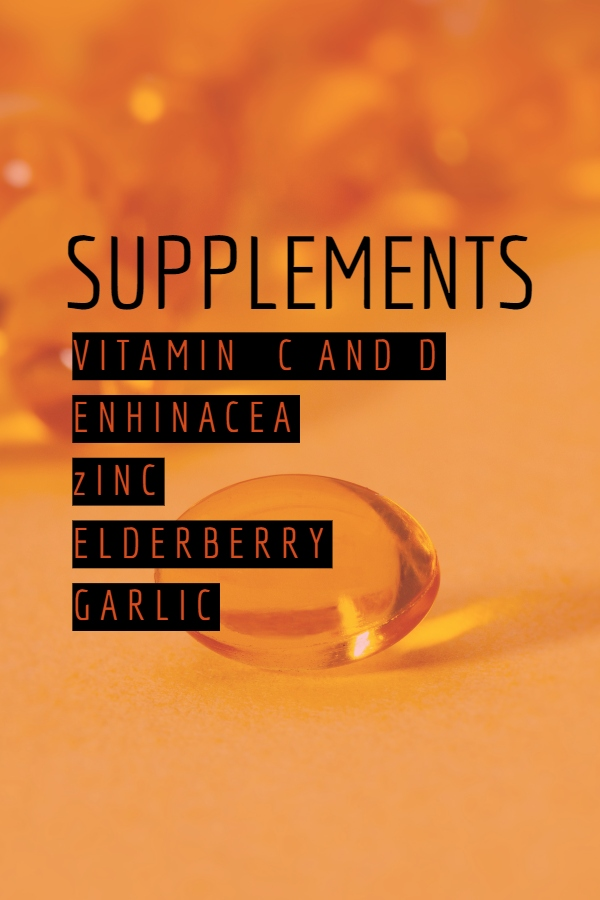 Supplements List for your health