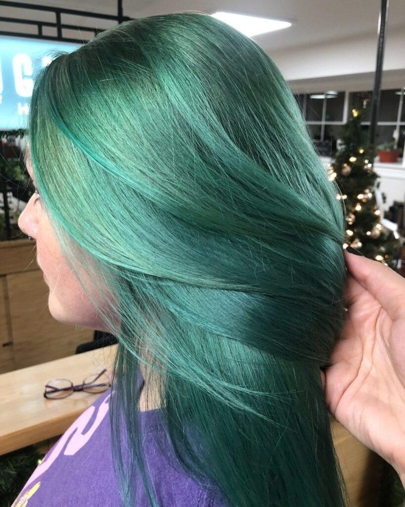 15 Stunning Green Hair Color Ideas 2020 2