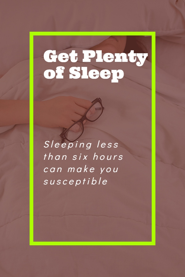 Manage your stress - fact of sleeping