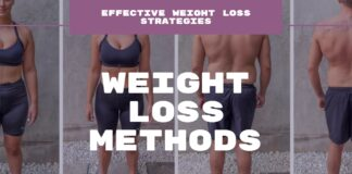 Weight loss methods - effective weight loss strategies