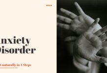 Anxiety Disorder Treat Naturally