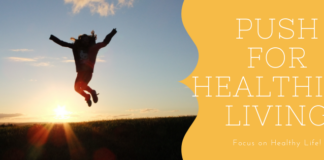 push healthier life graphic