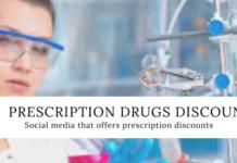 Social Media that offers prescription discounts