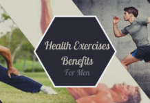 health benefits exercises men