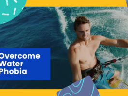overcome water phobia